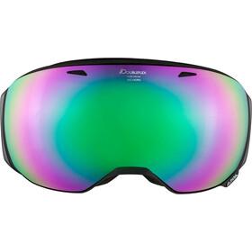 Alpina Big Horn MM Goggles black matt emerald spherical